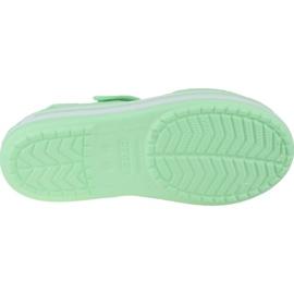 Sandały Crocs Crocband Jr 12856-3TI zielone 3