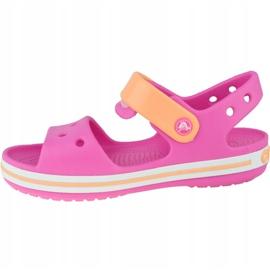 Sandały Crocs Crocband Jr 12856-6QZ różowe 1