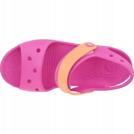 Sandały Crocs Crocband Jr 12856-6QZ różowe 2