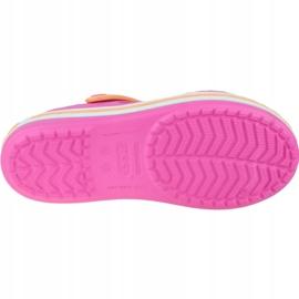 Sandały Crocs Crocband Jr 12856-6QZ różowe 3
