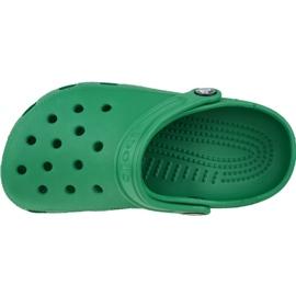 Klapki Crocs Crocband Clog K Jr 204536-3TJ zielone 2