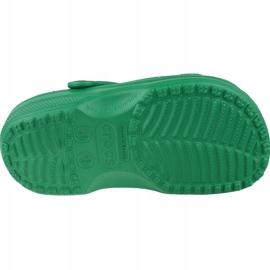 Klapki Crocs Crocband Clog K Jr 204536-3TJ zielone 3