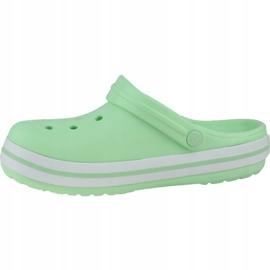 Klapki Crocs Crocband Clog K Jr 204537-3TI zielone 1