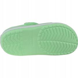 Klapki Crocs Crocband Clog K Jr 204537-3TI zielone 3