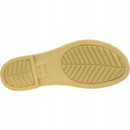 Sandały Crocs Tulum Open Flat W 206109-00W czarne 3