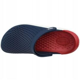Klapki Crocs LiteRide Clog 204592-4CC granatowe 2