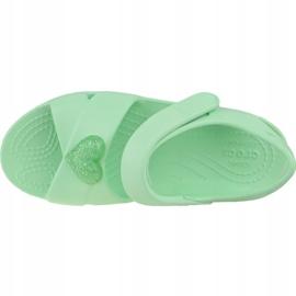 Sandały Crocs Classic Cross-Strap Sandal K 206245-3TI niebieskie 2