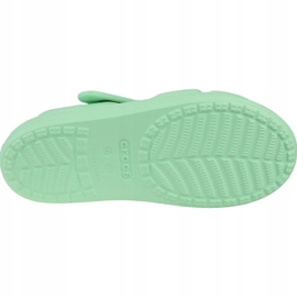 Sandały Crocs Classic Cross-Strap Sandal K 206245-3TI niebieskie 3
