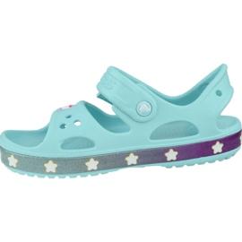 Sandały Crocs Fun Lab Unicorn Charm Sandal K 206366-4O9 niebieskie 1