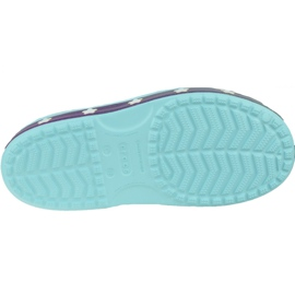 Sandały Crocs Fun Lab Unicorn Charm Sandal K 206366-4O9 niebieskie 3