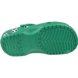 Klapki Crocs Classic Sport Ball Clog Ps Jr 206417-3TJ zielone 3