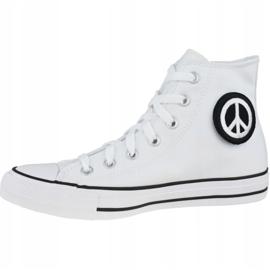 Buty Converse Chuck Taylor All Star Hi Peace W 167892C białe 1