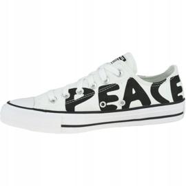 Buty Converse Chuck Taylor All Star Peace 167894C białe 1