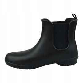 Kalosze Crocs Freesail Chelsea Boot W 204630-060 czarne 1