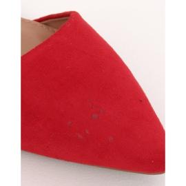 Baleriny z zapięciem czerwone CL73P Red Ii Gatunek 4