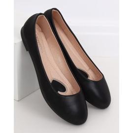 Baleriny damskie czarne YSD817 Black 1