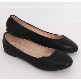 Baleriny damskie czarne YSD817 Black 2