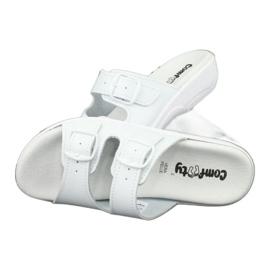 Klapki białe profilaktyczne Comfooty Carolina 4