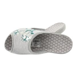 Befado obuwie damskie pu 254D100 szare zielone 4