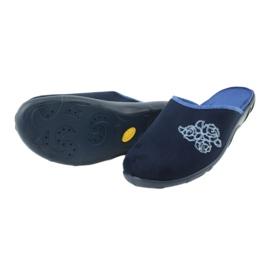 Befado kolorowe obuwie damskie pu 235D157 granatowe niebieskie 4