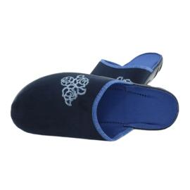 Befado kolorowe obuwie damskie pu 235D157 granatowe niebieskie 5