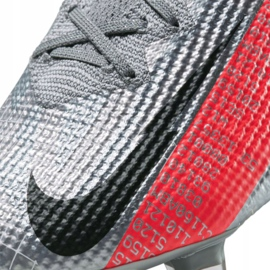 Buty piłkarskie Nike Vapor 13 Elite Fg M AQ4176-906 szare wielokolorowe 4