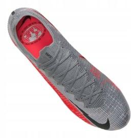 Buty piłkarskie Nike Vapor 13 Elite Fg M AQ4176-906 szare wielokolorowe 5