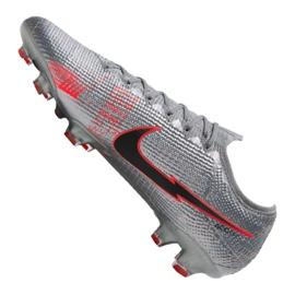 Buty piłkarskie Nike Vapor 13 Elite Fg M AQ4176-906 szare wielokolorowe 7