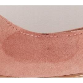 Baleriny w szpic różowe A822 Pink Ii Gatunek 5