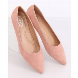 Baleriny w szpic różowe A822 Pink Ii Gatunek 3