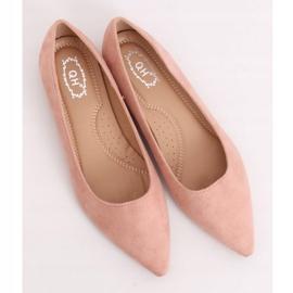 Baleriny w szpic różowe A822 Pink Ii Gatunek 4
