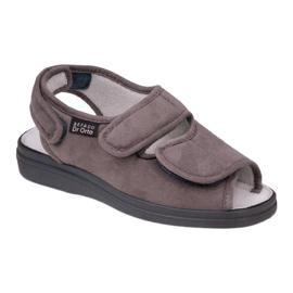 Befado obuwie męskie pu 676M006 szare 1