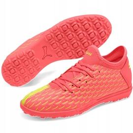 Buty piłkarskie Puma Future Jr 5.4 Osg Tt 105952 01 czerwone czerwone 3