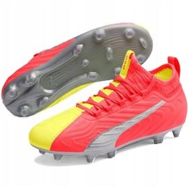 Buty piłkarskie Puma One Jr 20.3 Osg Fg Ag 105972 01 czerwone czerwone 3
