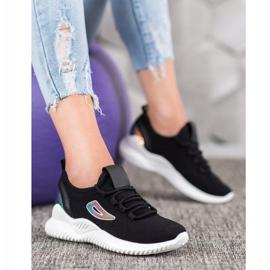 Sneakersy Z Cekinami MCKEYLOR czarne 2