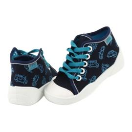 Befado obuwie dziecięce 218P059 granatowe niebieskie 5