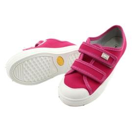 Befado obuwie dziecięce 440X011 różowe 4
