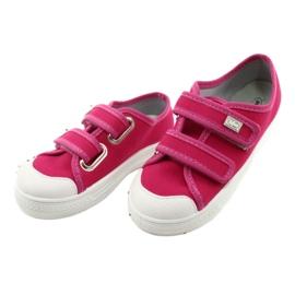 Befado obuwie dziecięce 440X011 różowe 3