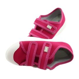 Befado obuwie dziecięce 440X011 różowe 5