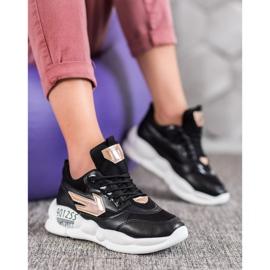 SHELOVET Sneakersy Z Eko Skóry Fashion 5