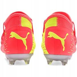 Buty piłkarskie Puma Future 5.3 Netfit Jr Osg Fg Ag 105947 01 czerwone żółte 4