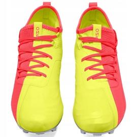 Buty piłkarskie Puma One M 20.2 Osg Fg Ag 105959 01 niebieskie żółte 1