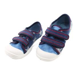 Befado obuwie dziecięce  907P100 niebieskie 3