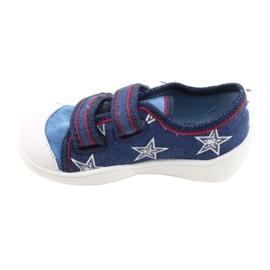 Befado obuwie dziecięce  907P100 niebieskie 2