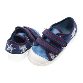 Befado obuwie dziecięce  907P100 niebieskie 4