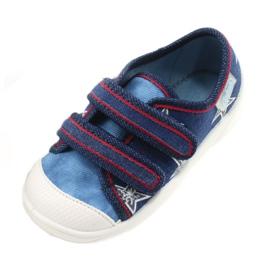 Befado obuwie dziecięce  907P100 niebieskie 5