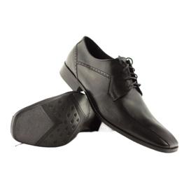 Buty męskie skórzane Pilpol 1261 czarne 3