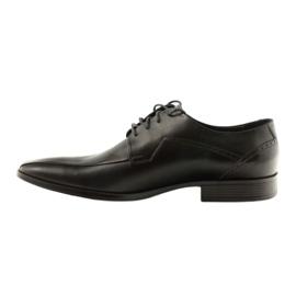 Buty męskie skórzane Pilpol 1261 czarne 2