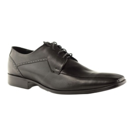 Buty męskie skórzane Pilpol 1261 czarne 1