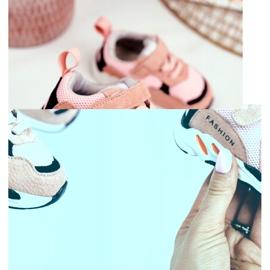 Apawwa Sportowe Buty Dziecięce na Rzep Różowe Yetto 2